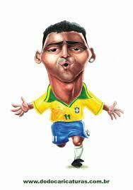 caricaturas brasileiras - Pesquisa Google-romario