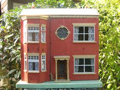 1930's Antique Doll's House, probably by Lines Bros.  .....Rick Maccione-Dollhouse Builder www.dollhousemansions.com