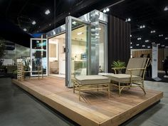 A New Concept in Prefab Homes from Entrepreneur Christopher Burch Dwell On Design, T Home, Prefab Homes, Space Crafts, Play Houses, Outdoor Furniture, Outdoor Decor, Home And Living, Sun Lounger