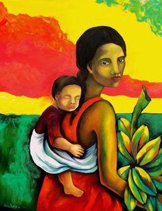 Sem a educação para o amor e para o respeito com o outro não criaremos seres com  consciência de mundo. Por mais seres com o sagrado feminino desenvolvido a equilibrar a energia do universo*** (Imagens -  Arte, Cultura y Maternidad Consciente).