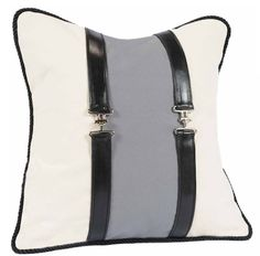 To die for Rebecca Ray equestrian pillow