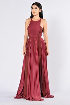 Khaleesi Dress - Wine from Fashion Nova. Saved to Getting Now Shop more products from Fashion Nova on Wanelo. 1940s Fashion Dresses, Latest Fashion Dresses, Dress Fashion, Work Dresses For Women, Nice Dresses, Ball Dresses, Long Dresses, Elegant Dresses, Party Dresses