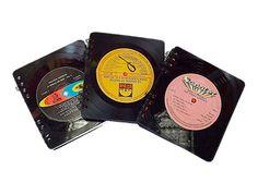 Agendas retro, reciclaje de discos Wallet, Retro, Recycling, Day Planners, Retro Illustration, Purses, Diy Wallet, Purse