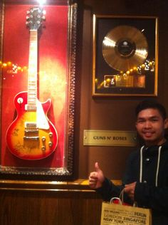 Guns N Roses.. Hard Rock cafe munich