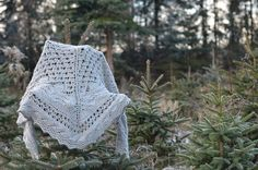 Juneberry Triangle Shawl by Jared Flood Vol 2