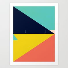 Secret Surf Map Art Print by Matthew Korbel-Bowers - $18.00  http://society6.com/product/Secret-Surf-Map_Print?tag=abstract