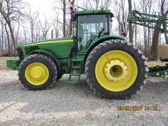 John Deere saw this tractor @ 2001 Farm Progress Show John Deere Equipment, John Deere Tractors, Tractors