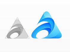 Logo Concept by Yoga Perdana Logo Design Tutorial, Graphic Design Tutorials, Web Design, Icon Design, Dia Do Designer, Share Logo, Abstract Logo, Book Design Layout, Logo Concept