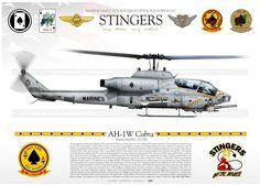 "AH-1W ""Super Cobra"" 58 HMLA-267 ""STINGERS"" JP-1170"