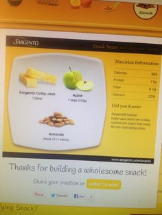 @Influenster #voxbox look at my cute little virtual snack plate!!! #ChooseSargentoCheese