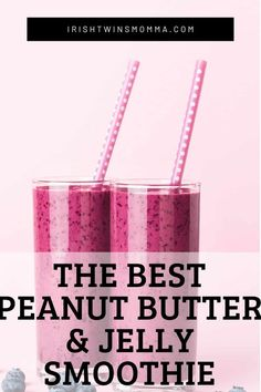 The best PBJ smoothie without the bread is a favorite for all. This healthy shake that has blueberries, peanut butter, banana, and more to help your body get the nutrients it needs without sacrificing flavor. Best Peanut Butter, Peanut Butter Banana, Creamy Peanut Butter, Healthy Waffles, Gluten Free Waffles, Vegan Smoothies, Smoothie Recipes, Healthy Eating Recipes, Easy Recipes