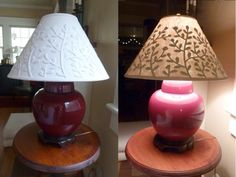 A Paper Clay Lampshadelooks Good In The Day Even Better At