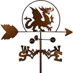 Shop for Handmade Dragon Weathervane . Get free shipping at Overstock.com - Your Online Garden