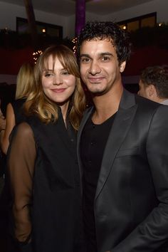 Katharine McPhee and Elyes Gabel. I'm so glad they're together in real life XD cutest couple!!!!