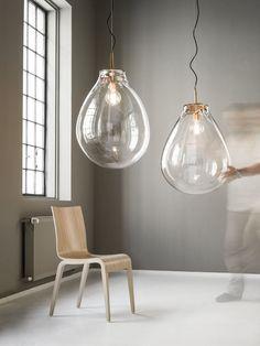 Hänge-Lampe / modern / für Innenbereich / aus Kristall - TIM by Olgoj Chorchoj & Jan Nemecek - BOMMA - Videos