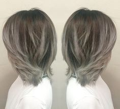 Ombre Hairstyles - Blonde and Silver