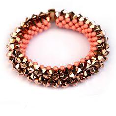 Armband mit Swarovski-Perlen - everglaze24