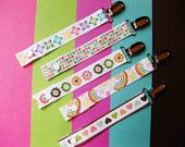 Pacifier clip 5 pack