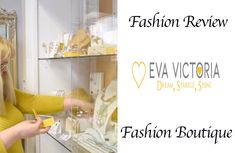 EvaVictoria Online Boutique Killybegs fashion review. Fashion.ie reviews the latest from jewellery from Online Boutique EvaVictoria, Killybegs, Co Donegal. Irish Fashion, Ladies Fashion, Review Fashion, Donegal, Watches Online, Ladies Boutique, Beautiful Earrings, Fashion Boutique, Online Boutiques