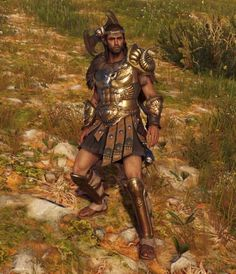 AC Odyssey Legendary Weapons and Armor Sets Guide Arte Assassins Creed, Assassins Creed Odyssey, Disneysea Tokyo, Roman Gladiators, Male Body Art, Animated Man, All Assassin's Creed, Warrior Quotes, Armor Concept