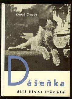 Dasenka cili zivot stenete, Karel Capek, published by Fr. Borovy, 1938 | Cover by Karel Teige.