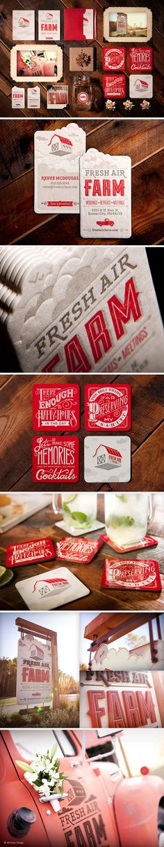 Fresh Air Farm Branding | Designer: Whiskey Design.