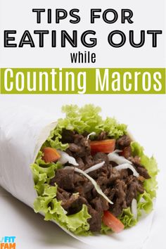 Eating out while counting macros is definitely allowed! Check out these tips to find out how to work restaurant meals INTO your macros! Paleo Diet Plan, Healthy Diet Plans, Healthy Eating, Healthy Recipes, Healthy Moms, Clean Eating, Healthy Salty Snacks, Macros Diet, Iifym Diet