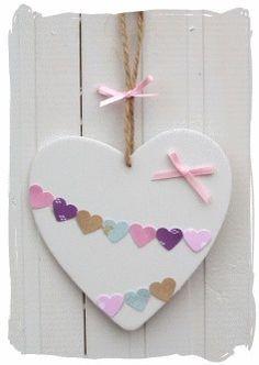 Bunting Heart : www.bynicki.co.uk