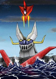 Thundercats, Devilman Amon, Super Robot Taisen, Days Anime, Japanese Robot, Mecha Anime, Marvel Fan, Cool Cartoons, Batman