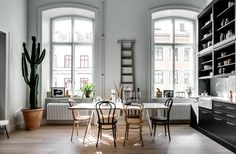 Beautiful Stockholm apartment via Alexander White | Styling by Scandinavian Homes | Photo by Henrik Nero Follow Style and Create at Instagram | Pinterest | Facebook | Bloglovin