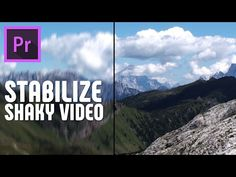 How to stabilize motion using the Warp Stabilizer effect inside Premiere Pro. Steps shown in this tutorial: the clip you want to stabilize. Beau Film, Photography Lessons, Video Photography, After Effects, Photoshop, Film Effect, Visual And Performing Arts, Adobe Premiere Pro, Le Web