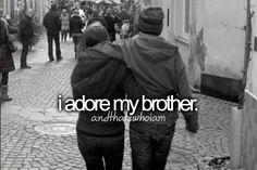 i adore my half brother