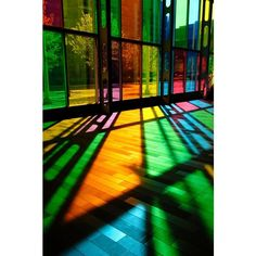 DKGO / Pinterest background picture of colorful/colouful window ❤ liked on Polyvore featuring backgrounds, windows, pictures and stained glass