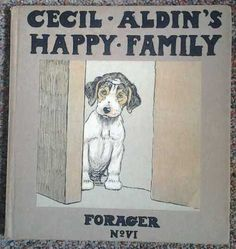 Cecil Aldins Happy Family Forager No Vl Dog Books, Country Scenes, The Fox And The Hound, Animal Sketches, Vintage Children's Books, Old Dogs, Children's Literature, Happy Family, Beagle