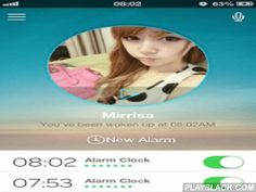 """Who Wake Me Up?  Android App - playslack.com ,  """"Who Wake me up"""" is the world's first and most interesting alarm clock that apply user-made voice ringtone on a social intercourse. Set your wake up time and gender, you will be woke up by a mysterious random person the next morning! Features Love: Tired of robot-like, lifeless alarm clock programme? Who wake me up is a considerate app that full of joy and warm feelings, users can wake up each other every morning by their self-made ringtone…"""