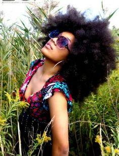 big afro | Via Tanika Ray