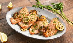 Best Grilled Lemon Butter Salmon Recipe - How To Make Grilled Lemon Butter Salmon