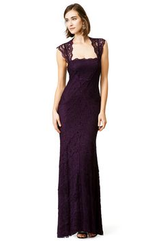 Rent Purple Horizon Gown by Nicole Miller for $150 only at Rent the Runway.
