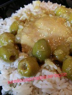 Tajine de poulet aux olives et citrons confits avec ou sans Companion Recette pour 6 personnes Ingrédients : 6 hauts de cuisses de poulet (ôter la peau) 2 citrons confits rincés 1 bocal d'olives vertes dénoyautées (160gr) rincées et égouttées 2 oignons...