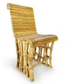 chaise verte | Green School Classic Chair