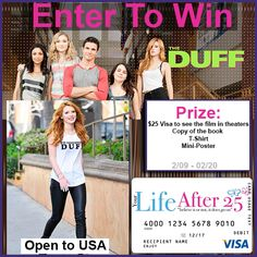 Enter To Win: The Duff Movie Prize Pack - #TheDUFF