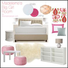 Finally getting a plan together for Madeleine's Big Girl Room