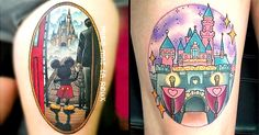 Keep the magic alive with Disneyland tattoos to keep the happiest place on earth with you always.