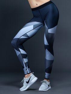 Ultra ELITE FACET PRINT Legging by ULTRACOR - BOTTOMS & LEGGING $185