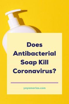 Here's what scientists found out about antibacterial soap and whether it kills coronavirus. #health #healthy #antibacterial #antimicrobial #cleaningtips #homehacks #hacks #tipsandtricks #tips #kitchenhacks #soap #safe