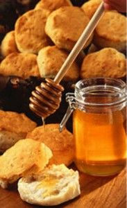 Honey buttermilk scones from the Brown Palace Hotel and Spa's rooftop honeybees