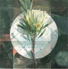 Jeannie Kinsler: A Protea: fine art | StateoftheART South African Artists, Long Shadow, Pebble Painting, Paintings For Sale, Online Art Gallery, Oil On Canvas, Original Artwork, Plant Leaves, Fine Art