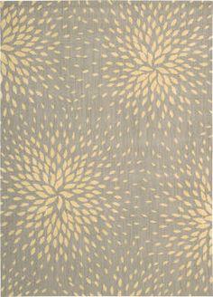 subtle palette, starburst pattern