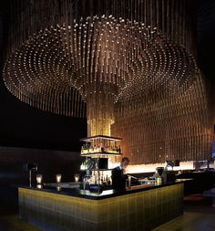 100 gems of remarkable design from the world's best, as defined by the Restaurant and Bar Design Awards. Bar Interior Design, Restaurant Interior Design, Cafe Design, Design Design, Lounge Bar, Lounge Design, Luxury Restaurant, Restaurant Bar, Hotel France