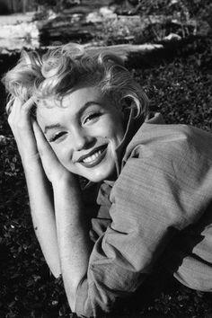 Marilyn y su inolvidable sonrisa.